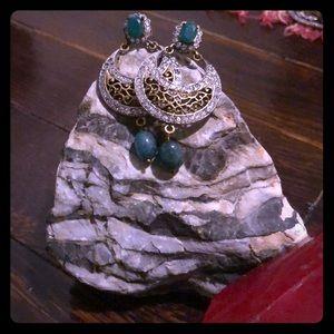Indian Filigree Earrings